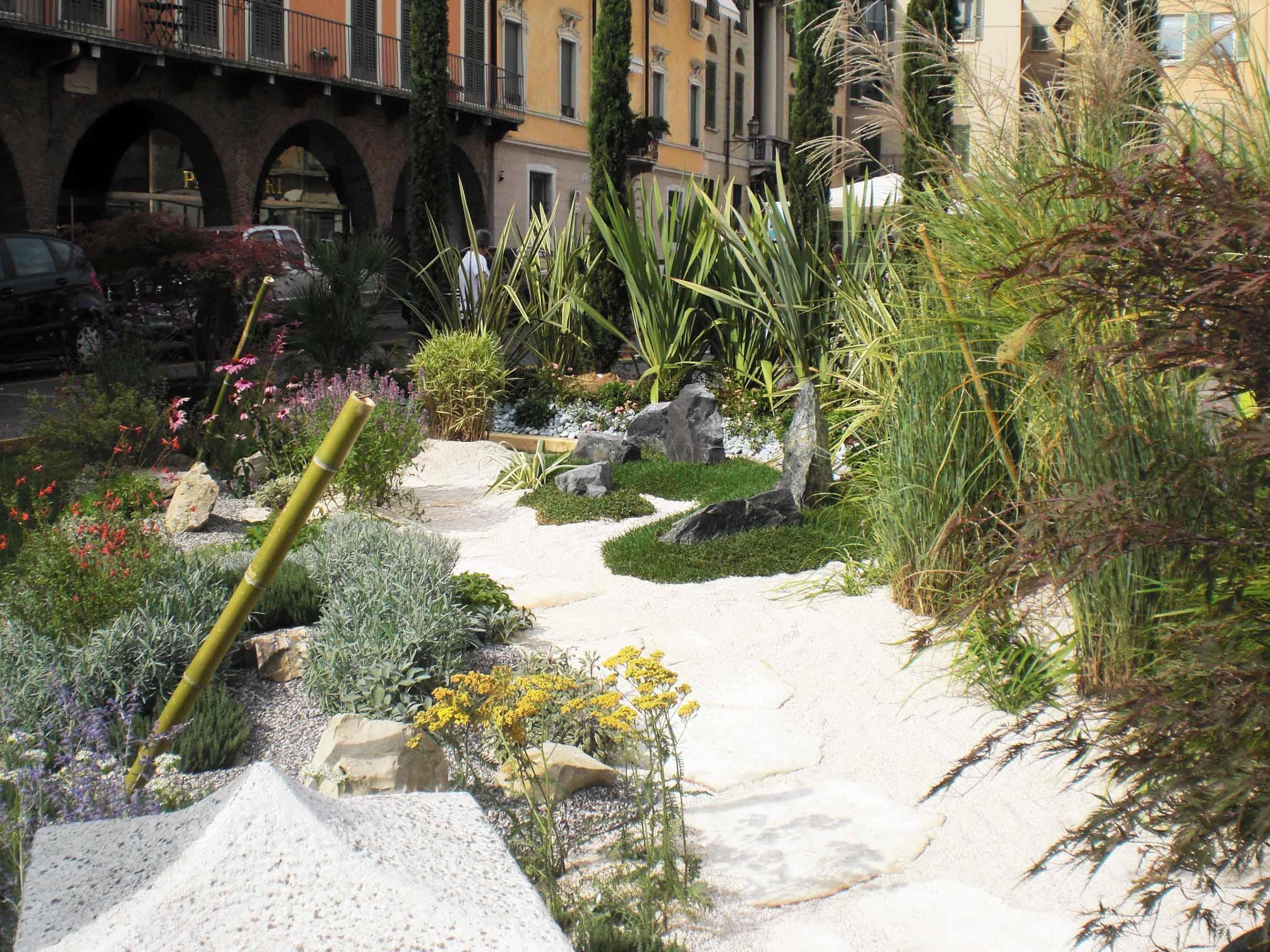Giardino Giapponese Sul Balcone : Creare giardino zen excellent come creare un giardino zen in casa