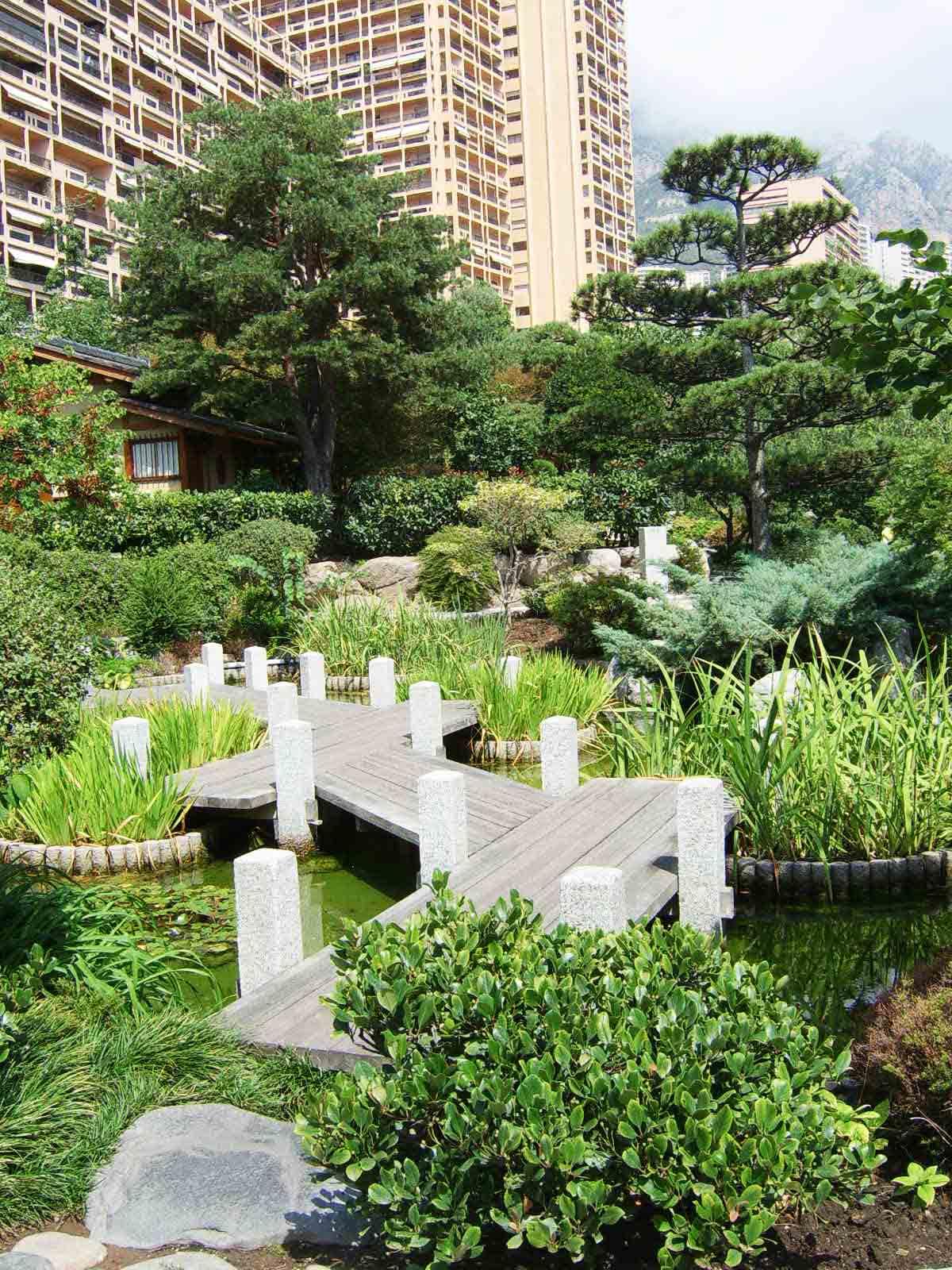 Giardino zen di montecarlo idea creativa della casa e for E design della casa